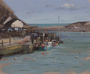 Axmouth Harbour, Afternoon, March