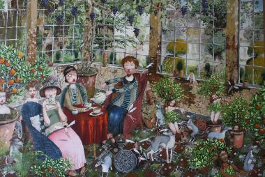 Hybrid Gallery Richard Adams The Old Orangery