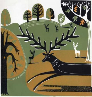 Hybrid Gallery Melvyn Evans The Knole Stag