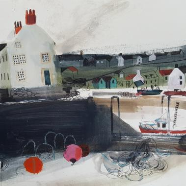Hybrid Gallery Jane Askey  Winter Harbour