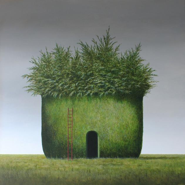Hybrid Gallery Lee Madgwick Leylandii Self-Isolation Pod