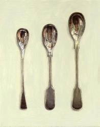 Three Salt Spoons