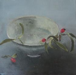 Hybrid Gallery Linda Felcey Mistletoe and Hips