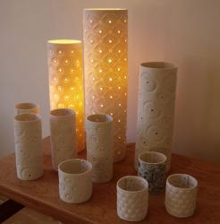 Lamps, Candle Covers and Candle Cups