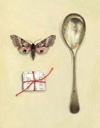 Spoon with Moth and Song