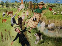 Hybrid Gallery Richard Adams The Windy Day