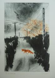 Hybrid Gallery Paula Youens Fox in the Lane