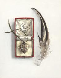 Hybrid Gallery Rachel Ross Feather with Jewellery Box and Locket