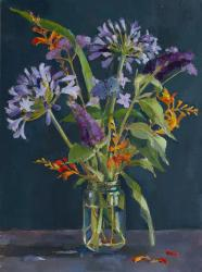 Hybrid Gallery Annie Waring Agapanthus and Crocosmia