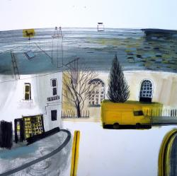 Hybrid Gallery Jane Askey Weather Vane Yellow Van