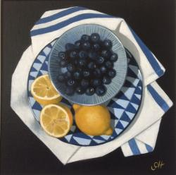 Hybrid Gallery Gill Hamilton Blueberries with Lemons