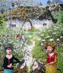 Hybrid Gallery Richard Adams White Garden