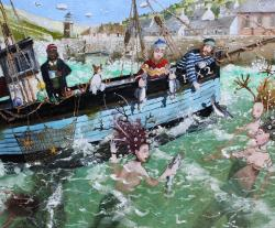 Hybrid Gallery Richard Adams The Maids of the Harbour