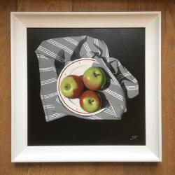 Hybrid Gallery Gill Hamilton Green and Red Apples