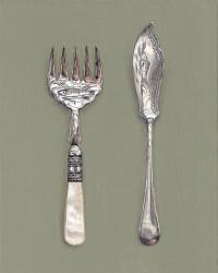 Hybrid Gallery Rachel Ross Fish Knife and Fork