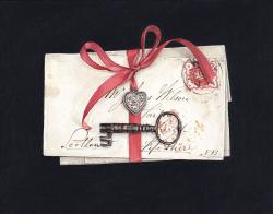 Hybrid Gallery Rachel Ross Letter with Locket and Key