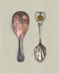 Hybrid Gallery Rachel Ross Caddy Spoon with Lake Tahoe Souvenir