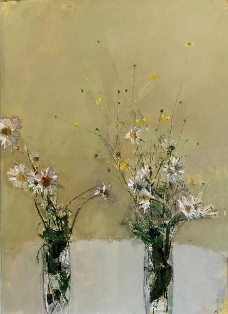 Hybrid Gallery Adrian Parnell Double Daisies