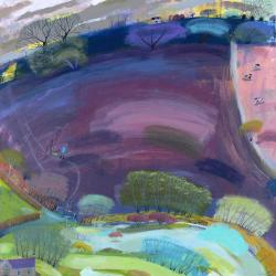 Hybrid Gallery Debbie Lush Purple Field