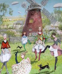 Hybrid Gallery Richard Adams A Visit to the Red Mill
