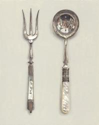 Hybrid Gallery Rachel Ross Mother of Pearl Fork and Spoon